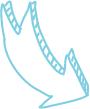 Déco Flèche Bleue