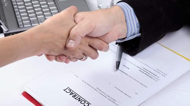 contrat partenariat accord