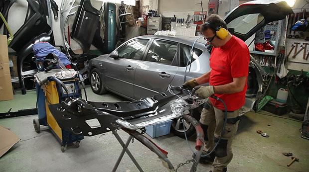 Dossier le m tier d 39 expert automobile est en profonde for Assurance pro garage